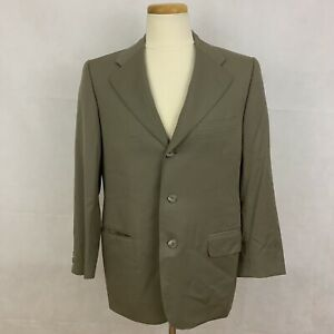 046c923a Details about Ermenegildo Zegna Men's SUPER 100'S Blazer Suit Jacket -  Green - 38C
