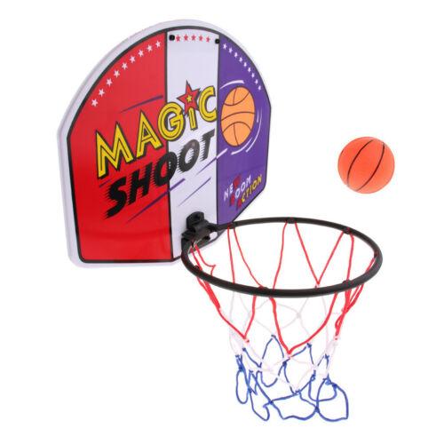 Mini Basketball Set Portable Basket Ball Hoop For All Ages 40x31cm