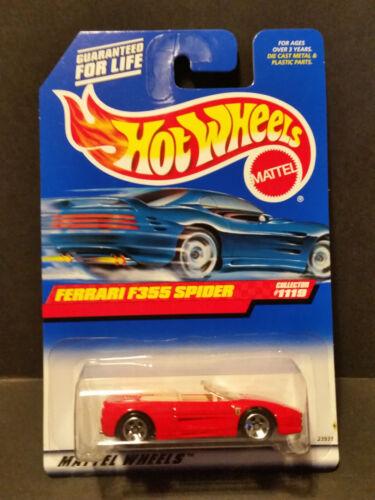23931 1998 Hot Wheels #1119 Ferrari F355 Spider
