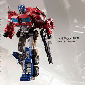 Transformers-Optimus-Prime-AOYI-6001-4-Action-Figure-Level-V-New-In-Stock-18cm