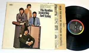 Yesterday And Today  by The Beatles LP Stereo 1966 Rainbow label NOT Butcher Ex