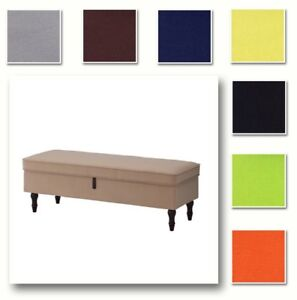 Image Is Loading Custom Made Cover Fits Ikea Stocksund Bench Replace