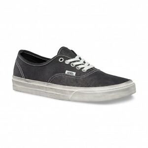 OVERWASHED DONNA BLACK UOMO VANS SCARPE AUTHENTIC NERE ORIGINALI wq8En
