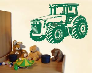 Details Zu Wandtattoo Trecker Traktor Kinderzimmer Deko Xxxlaufkleber Wandsticker Deko