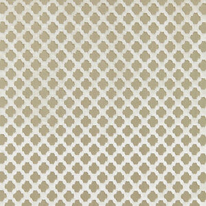 SCALAMANDRE POMFRET GEOMETRIC CUT VELVET FABRIC 10 YARDS ALABASTER CREAM BEIGE