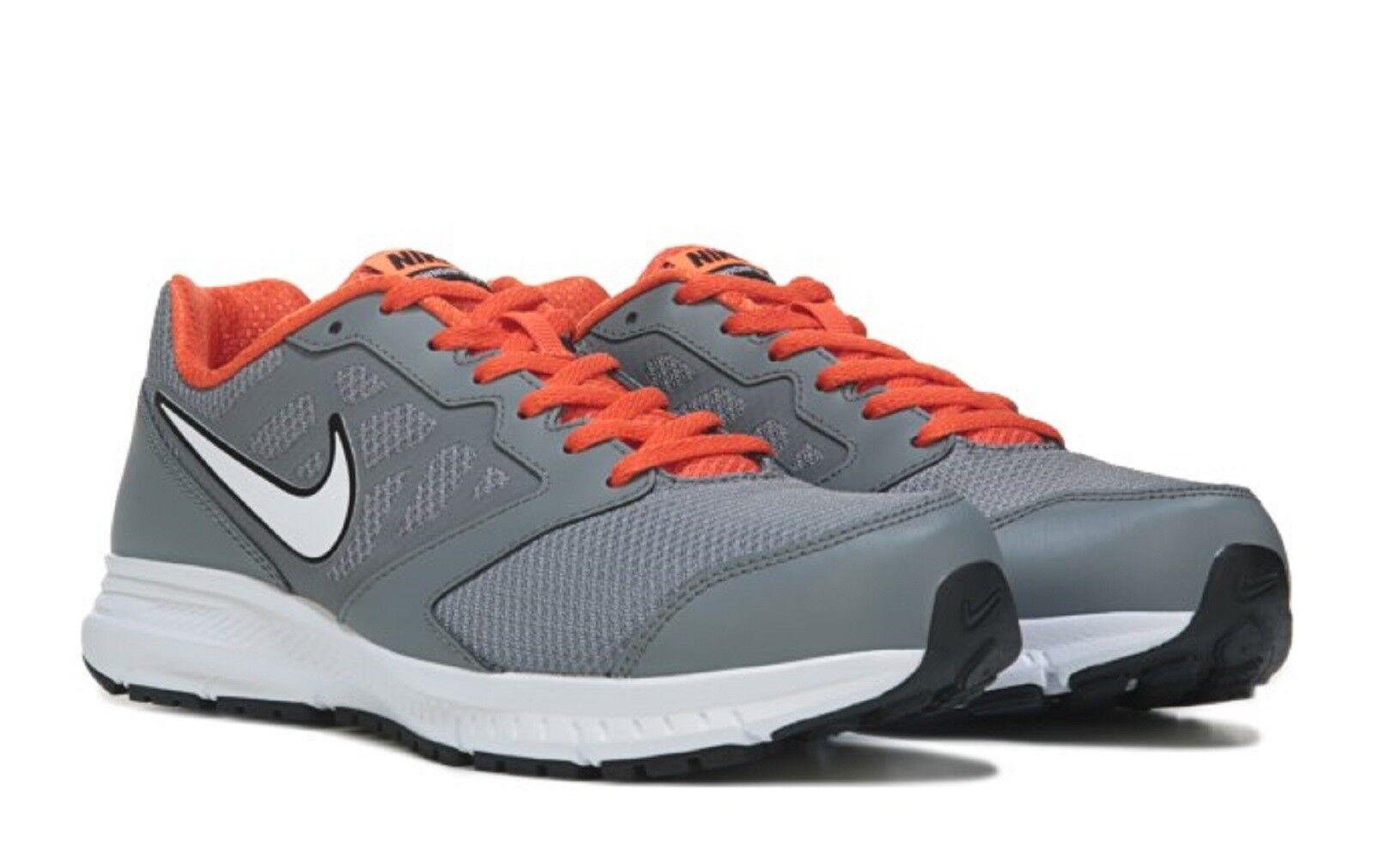 lower price with 736b4 ab8dc NIKE Men s  DOWNSHIFTER 6  Running shoes Grey orange Wht Blk Sz. 9M NIB