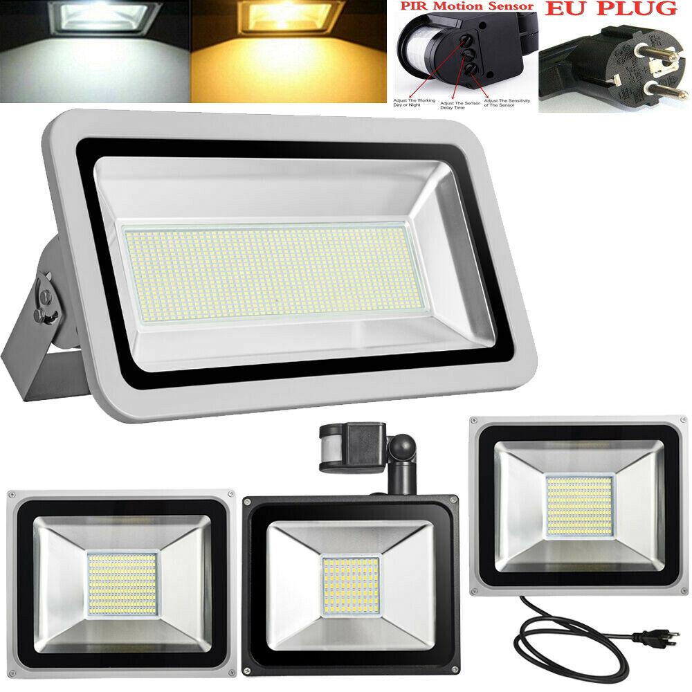 LED Flutlicht 10W 20W 30W 50W 100W 150W 200W 300W 500W 800W 1000W Außenleuchte