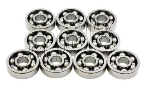 Kit Bearing 5x11 Open 5x11x3 Ball Bearings Pack 10