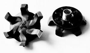 20-X-6mm-Metal-Rosca-Suave-Tachones-Nuevo