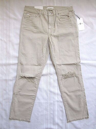 Sand Pant 7 Leg For 30 All Hem Mankind Ankle Straight Au8169495s Jeans 886992822031 Raw Nwt Aqvp8