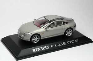Coches-Concept-Car-IXO-Diecast-1-43-RENAULT-FLUENCE-CONCEPT-NEUF-EN-BOITE-CCC030