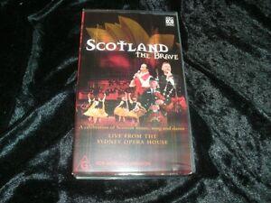 SCOTLAND-THE-BRAVE-VHS-VIDEO-PAL-A-RARE-FIND