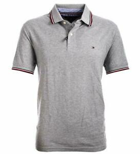 Details about Tommy Hilfiger Mens Wicking Polo Shirt Polo Shirt Grey S XXXL show original title
