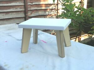 Boys/&Girls Sturdy Pine//MDF Black Children StepStool Kids Stool,Chair