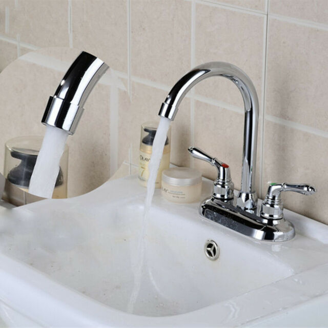 Kitchen Sink Zebra Cold Hot Water Mixing Valve Double Handle Faucet Taps Z16b8 For Sale Online Ebay