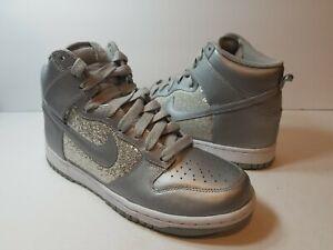 Nike Dunk High 325203-001 Metallic