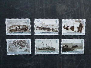 2015-BRITISH-ANTARCTIC-TERRITORY-EXPEDITIONS-SET-6-MINT-STAMPS-M-N-H