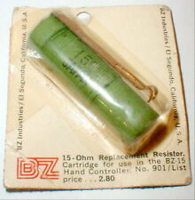 15 ohm Resistor for Controller by BZ NOS 1960's Vintage slotcar #901