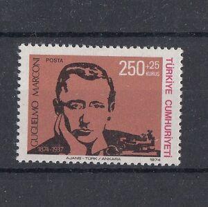 TURCHIA-TURKEY-1974-Centenario-nascita-di-Marconi-2110
