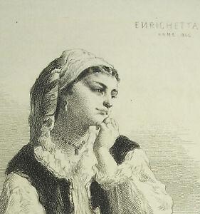 Gravur-c1874-Enrichetta-ROM-1866-D-039-Ap-Coelestin-Nanteuil