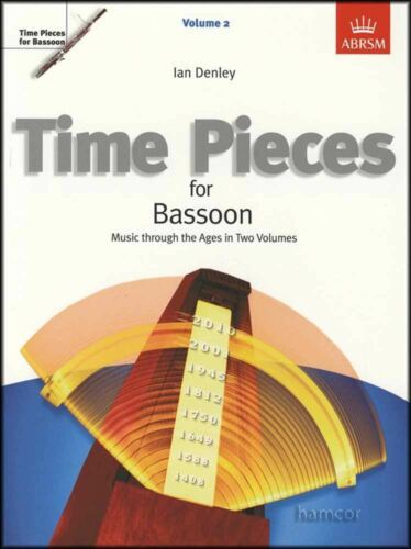 Time Pieces for Bassoon Volume 2 Grades 4-5 ABRSM Sheet Music Book