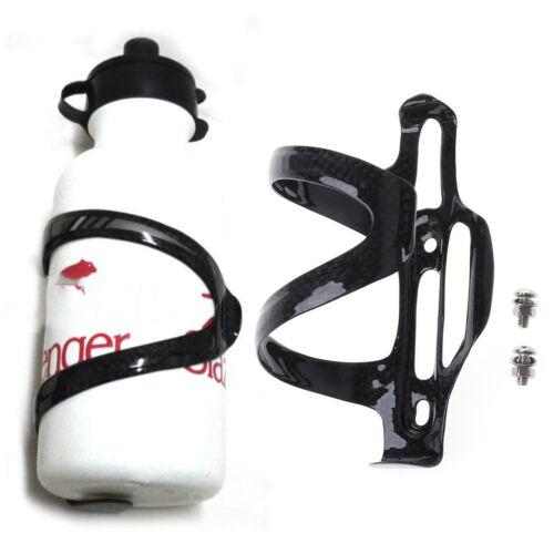 Full Carbon Fiber Bicycle Bike Water Bottle Holder Adjustable Side Open Cage Kit