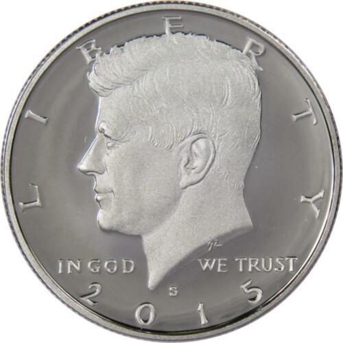 2015 S 50c Kennedy Half Dollar US Coin Choice Proof