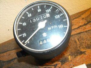 Suzuki T500 t 500 Titan Speedometer Speedo Clock Meter