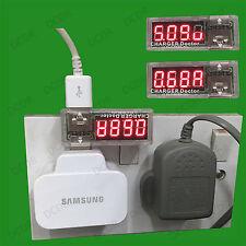 USB carga médico Corriente Tensión de carga de batería Detector Medidor de voltios amperaje