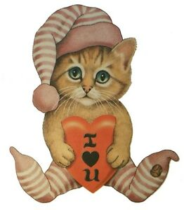 I-Love-You-Shirt-Kitty-Cat-with-Heart-amp-dreamy-eyes-Valentines-Day-Sm-5X