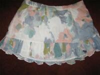 Girl's Abercrombie Floral Summer Skirt...size Medium