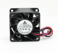Original Delta FFB0624EHE 6038 60mm 6cm DC 24V 0.57A axial case cooling fan