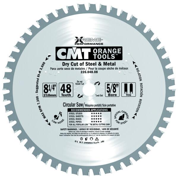 Lame industriali CMT XTreme per taglio di materiali ferrosi Cod.  226