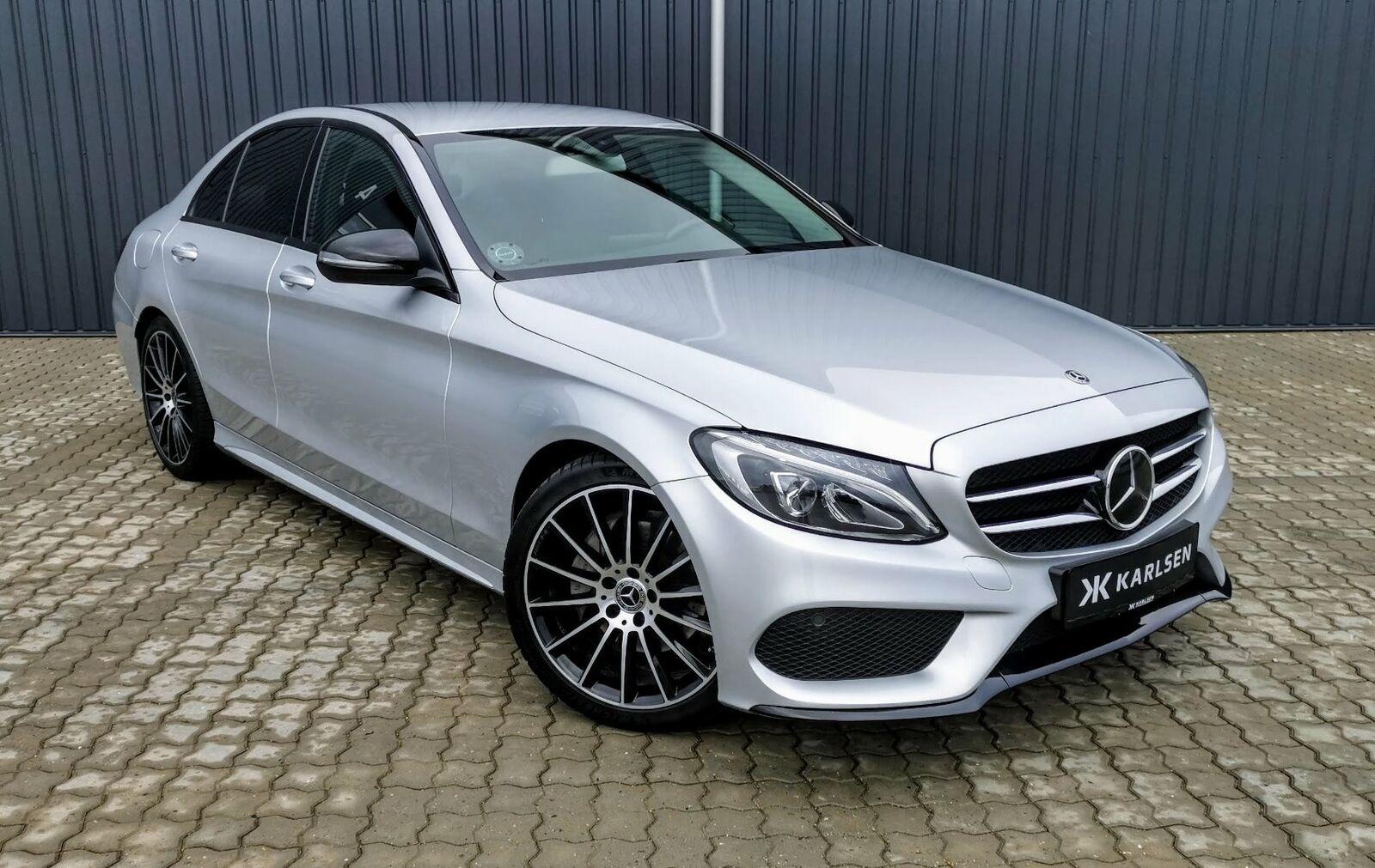 Mercedes C220 d 2,2 AMG Line aut. 4d - 379.900 kr.