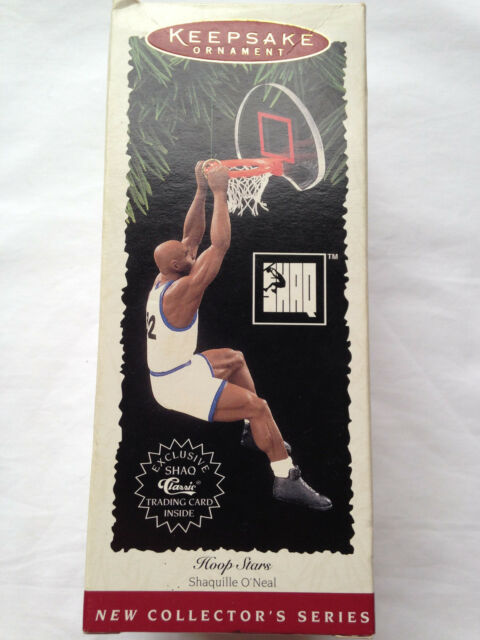 Hallmark Keepsake Holiday Ornaments Lot Basketball NBA Shaq O'Neal Grant Hill