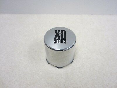 KMC XD Series Custom Wheel Center Cap Flat Black finish 1001357
