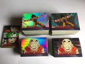 Dragon Ball Z Chromium P2 Master Set (Holochrome+Reg+Stickers+Holo Stickers+SP)