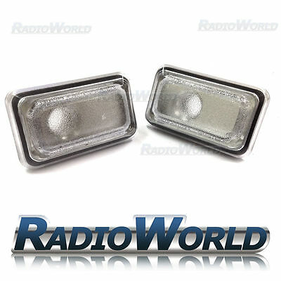 VW Golf Jetta Polo Passat  Clear White Side Repeaters Indicator Light Lamp Lense