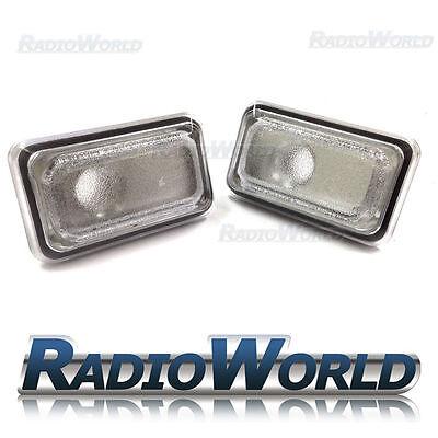 VW Golf Jetta Polo Passat  Clear White Side Repeaters Indicator Light Lamp Lense