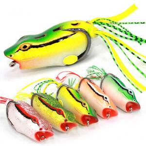 GI-CO-AB-11-8g-Fishing-Artificial-Hard-Lifelike-Lure-Wobbler-Frog-Shape-Fish