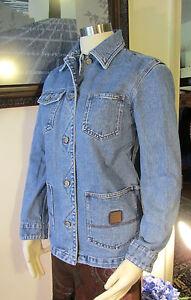 Lauren-Jeans-Co-Ralph-Lauren-Petite-Distressed-Jeans-Jacket-Size-PP