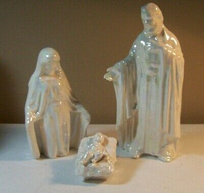 Nativity Jesus in Manger 3 Ready to Paint Ceramic Bisque