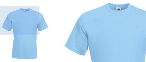 Super 100/% Premium 205gsm Cotton Comfortable Plain Strong Lightweight T Shirt