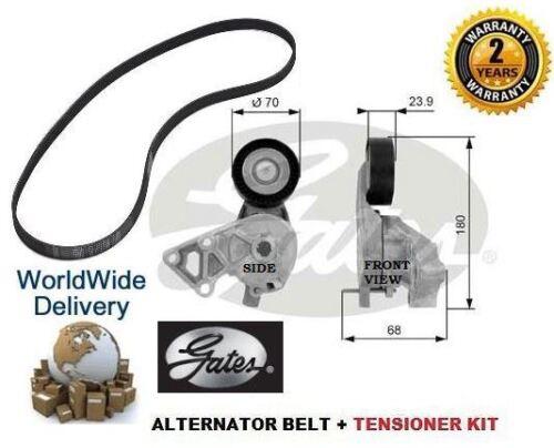 Tensor Kit Para Seat Toledo 1.9 Tdi 2000-2006 8v Gates Alternador Ventilador Cinturón