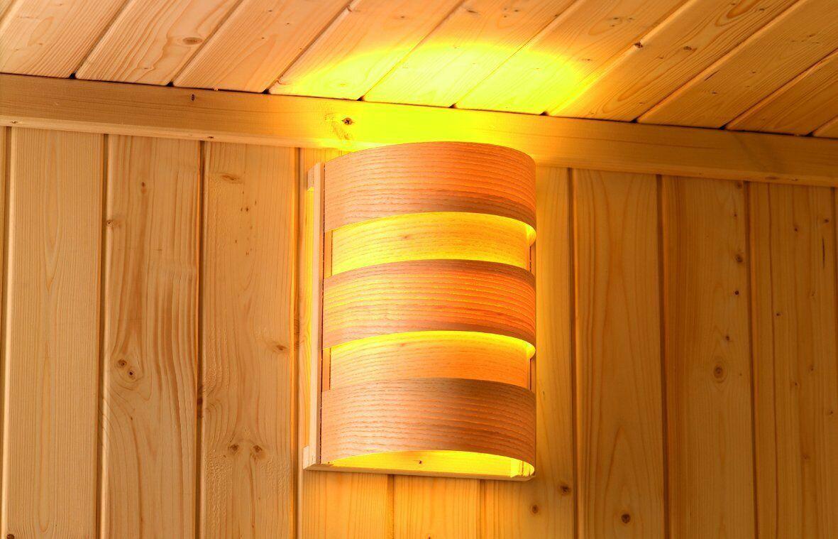 Sudorewell Lámpara de Sauna Classic Plug&Jugar, Sauna, Luz Luz,