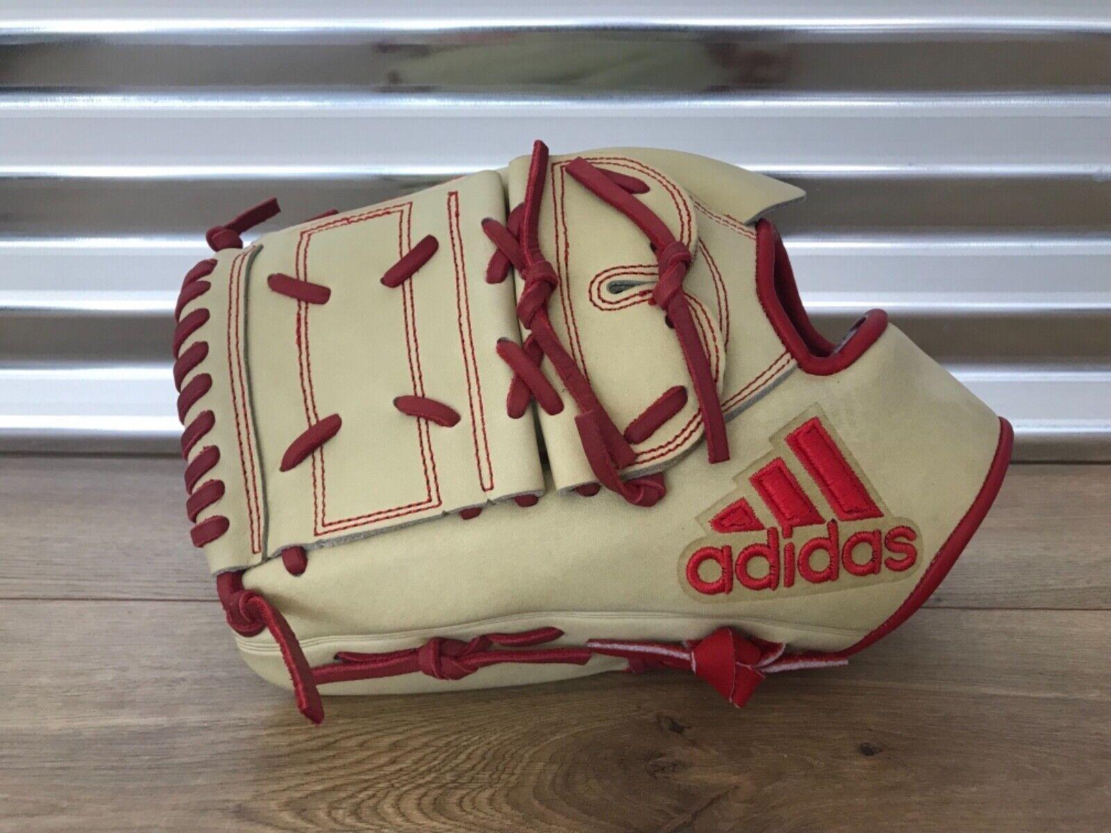 Adidas Eqt 1200 SP Pro Series Guante de béisbol 12  luz tan LHT Rojo (CF9187)