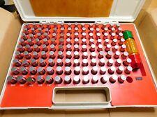 """0.625/"""" Steel Plug Pin Gage Set Minus - #M3 - 0.501/"""" 125 Pcs//Set M3"""