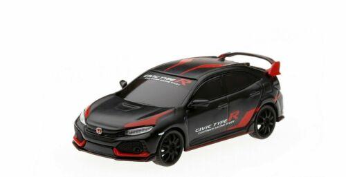 2017 HONDA CIVIC TYPE R Customer Racing Study Black *** Mini GT-TSM 1:64 Nouveau