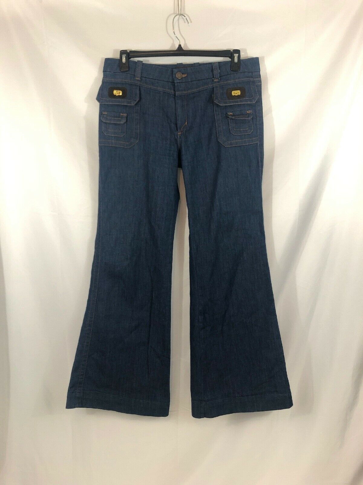 Dittos Womens Size 31 Flare Leg Denim Jeans