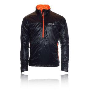 OMM-Mens-Womens-Rotor-Black-Primaloft-PointZero-Half-Zip-Running-Smock-Jacket